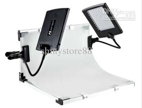 FALCONEYES Slim LED Panel Kit Set LED Video lámpara de luz para DV Video Cámara SLPK-2120LTV