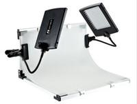 kits de iluminação de vídeo venda por atacado-FALCONEYES Slim LED Kit Painel Set LED Lâmpada de Luz de Vídeo para Câmera de Vídeo DV SLPK-2120LTV