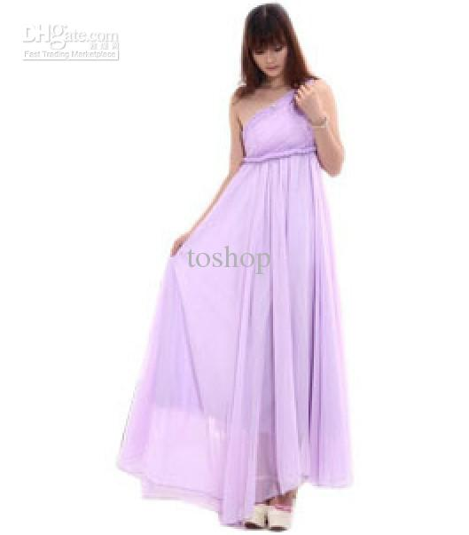 Online Buy Wholesale Greek Goddess Gown From China Greek: Purple Bridesmaid Dress Greek Goddess Sexy Shoulder Long