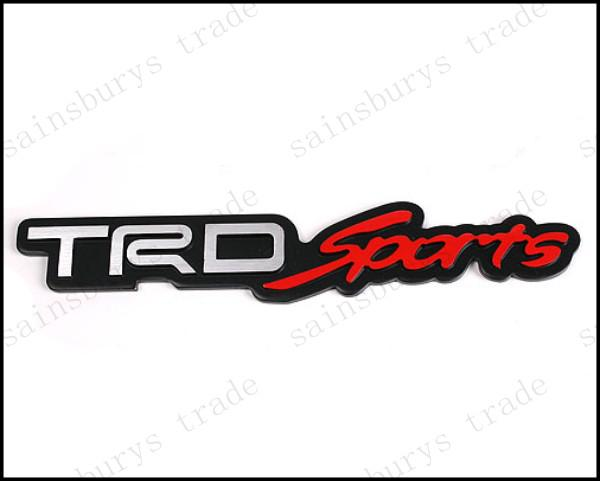 oem trd sports logo 3d emblems solid decals metal stickers auto rh dhgate com trd sport logo vector Toyota Logo TRD Sport