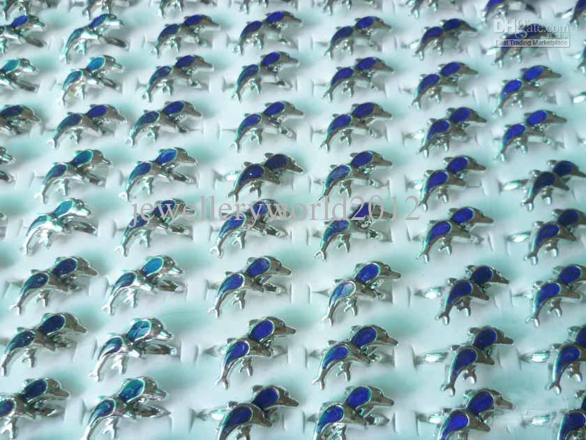 bague d'humeur dauphin MOOD Rings change de couleur à la température de vos tailles de mélange de sang