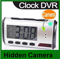 Wholesale Digital Clock Dvr - Digital Clock Hidden Camera DVR USB Motion Alarm.digital camera.Camera.mini dvr