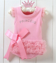 Wholesale Christmas Tights For Babies - Kids Clothing Baby Romper Baby Onesies Bodysuit Girl Jumpsuit Rompers Baby Wear Clothes infant Clothes Tights For Girls Baby Summer Top Baby