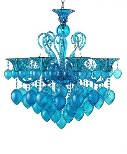 discount bella vetro 8lights 36 aqua blown glass chianti chandelier blue aqua chianti chandelier villa hotel living room glass chandelier maskros pendant - Blown Glass Chandelier
