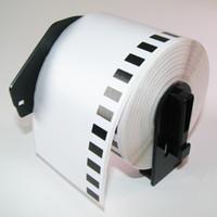 Wholesale Dk Labels - 100 x Rolls Brother Compatible Labels DK-22205 DK 22205 DK 2205 with Permanent Cartridge
