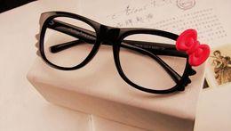 lunettes lindberg Promotion Cool !! Hot New Marque Style Bow Lunettes Cadre Belle Mode Lunettes De Soleil Cadres Accessoires De Mode Livraison Gratuite