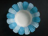 Wholesale Cup Cases Petals - Lastest new arrival hot blue 500pc lot petal 190g baking paper cup muffin cases for party favor