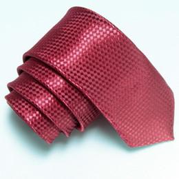 $enCountryForm.capitalKeyWord Canada - solid color slim ties skinny tie plaid men's ties pure neck tie necktie neck ties 19color 200pcs lot