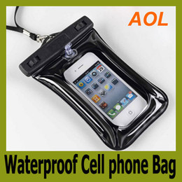 Wholesale Iphone 3g Cover Leather - Waterproof Cell phone Bag Pouch Jacket Leather Case Cover Protective Skin for Cell Phone MP3 4 3G 4G
