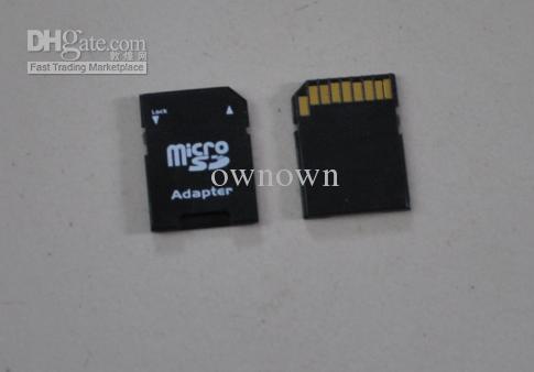 TF 카드 판독기 SD 카드 어댑터 TF to SD 카드 어댑터 DHL 빠른 배달 TF 마이크로에 의해