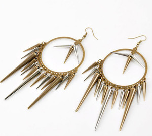 boucles d'oreilles de balles achat en gros de-news_sitemap_homeTip Bullet Earrings Retro Punk Style