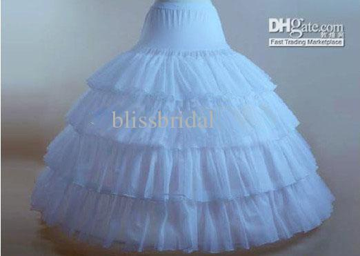 Cheap Flouncing Ball Gown Petticoats Ball Gown Underskirt Ball Gown ...