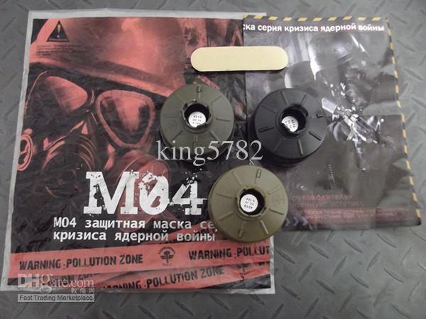 Pratique MO4 Masque /à gaz Guerre crise s/érie Protection pour arme /à air