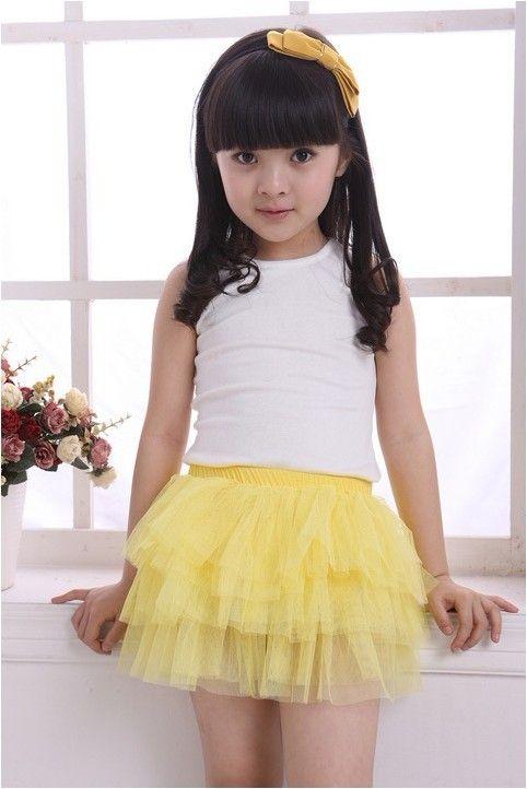 2018 Children Skirts Girls Fashion Cake Skirt.Age : 4 12 ...