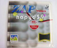 Wholesale Yasaka Rubber - free ship genuine YASAKA ZAP-40mm (BIOTECH) super-performance rubber table tennis rubber with sponge