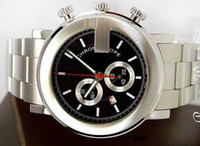 Wholesale Crystal G Watch - MEN'S 101 G ROUND CHRONO BLACK DIAL WATCH CHRONOGRAPH YA101309 WATCHES