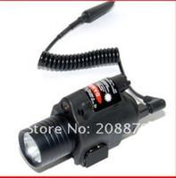 ingrosso led usa della torcia elettrica-Torcia laser tattica M6 con CREE LED Use per airsoft SPEDIZIONE GRATUITA