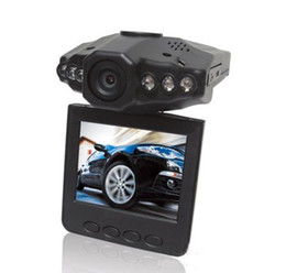 Wholesale Free Audio Recorder - HD 1280P 2.5'' LCD Vehicle Car DVR recorder with Audio & NightVision free shipping AB1434