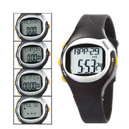 Wholesale Rates Table - Free shipping Sports watch Electronic heart rate  calories watch,Heartbeat table,Multi-function watch