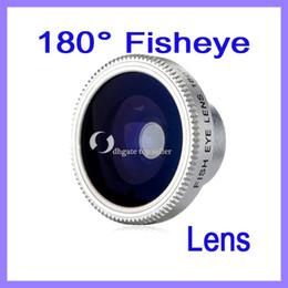 Wholesale Digital Camera Eye Lens - Fish eye lens for iphone4 4S,fish eye for mobile phone,180 degree wide angle lens for digital camera