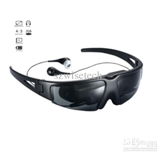 Video Wireless Gafas, Gafas virtual del televisor con la pantalla virtual de 52 pulgadas + envío gratis