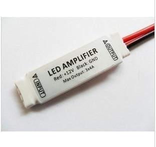 10 pcs DC 12 V luzes de tira RGB led amplificador de módulos