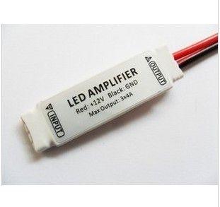 10PCS DC 12V RGB Strip Lights LED-modulförstärkare