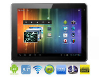 "Wholesale Aoson Tablets - Aoson M11 9.7"" Android 4.0 Tablet PC Rockchip 1.6Ghz Dual Core 1GB 16GB Bluetooth With Leather Case"