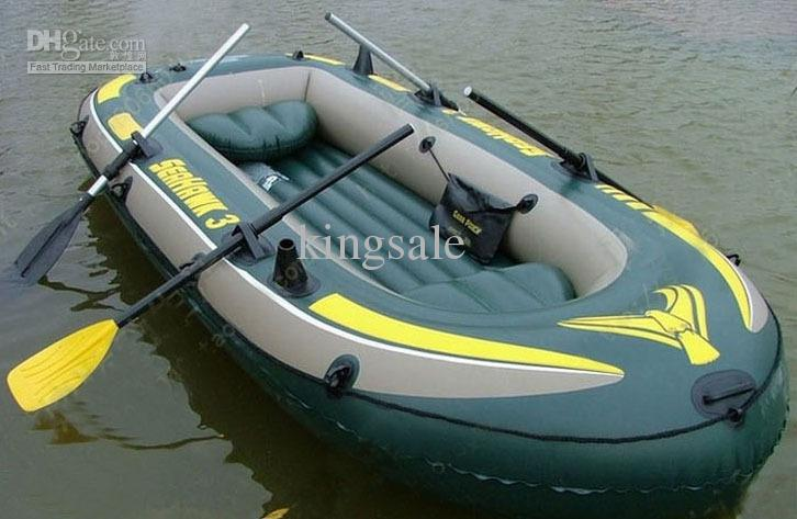 INTEX 68349 Inflatable Boat for 3 Persons Air Boat Raft Rafts Ship DHL  Shipping