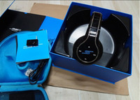 Wholesale Sms Audio Sync Bluetooth - SMS Audio Sync by 50 Cent Over-Ear Black Headphones Wireless Bluetooth 3 pieces