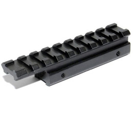 Wholesale 11mm Dovetail Rail - Dovetail Rail Extension 11mm to 20mm rail mount Weaver Adapter