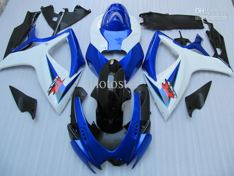bodywork fairing kit FOR Suzuki GSXR 600 750 K6 GSXR600 GSXR750 06 07 R600 R750 2006 2007 fairings