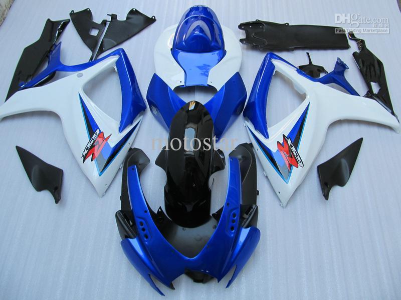 鈴木GSXRのためのボディワークフェアリングキット600 750 K6 OEMの射出成形鋳造案内GSXR600 GSXR750 06 07 R600 R750 2006 2007フェアリング