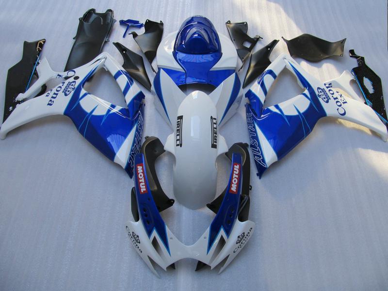 Bezpłatny niestandardowy zestaw do obróbki motocyklowej 2006 2007 GSXR 600 750 K6 OEM Wtryskiwacze GSXR600 GSXR750 06 07 R600 R750