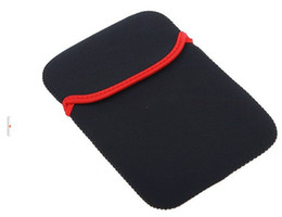 """Wholesale Ipad Mid - Wholesale Soft Protect Cloth Bag Pouch Cover Case for 7""""Tablet PC MID Notebook Black Color AB1474"""