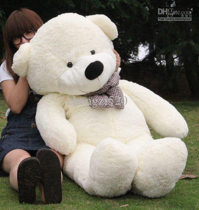 1.4m Oversized Teddy Bears White Plush Gift