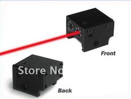 Wholesale Wholesale Red Laser Pistol Sight - MINI PISTOL LASER SIGHT scope red dot laser Tactical rail mount