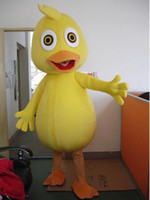 Wholesale Duck Costume Outfit Mascot - wholesale adult plush yellow duck mascot costumes carnival costume cartoon outfit free shipping