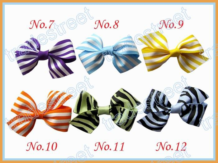 new style 2.5'' mix colors Girls Boutique hair clips wing hair bows