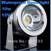 Wholesale Cheap Underwater Led Lights - LED Underwater Light Cheap high quality 12V 10W LED Waterproof Floodlight Lamp LED White or warm Energy Saving Light lamp
