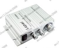 Wholesale Car Amplifier Wholesale - 2pcs I81 TA2020 Stereo Amplifier Tripath For Car MP3 + PSU 12V 4A Adapter