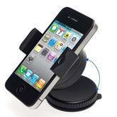 iPhone / GPS / PDA / MP3 / MP4用送料無料(10個/ロット)ユニバーサル携帯電話のフロントガラス車ホルダー