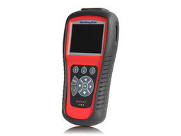 Wholesale Scanner Maxidiag - 100% Original Autel MD802 ALL systems MaxiDiag MD 802 Code Scanner multi-language md 802 scanner