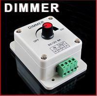 ingrosso dimmers di luce 12v-Controller dimmer PWM per luci a LED o nastro 3528 50MM, 12 volt DIMMER da 8 A