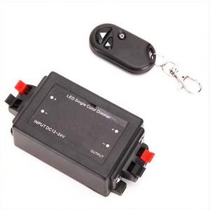 Controlador Dimmer Remoto sem fio para 5050/3528 Single Color LED Strip Lights 10pcs