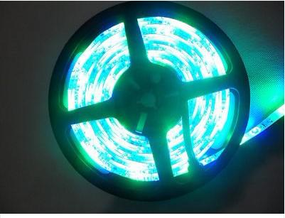 3528 SMD RGB IP65 impermeable 300 LED tira flexible de luz + 44 IR libre remoto conroller