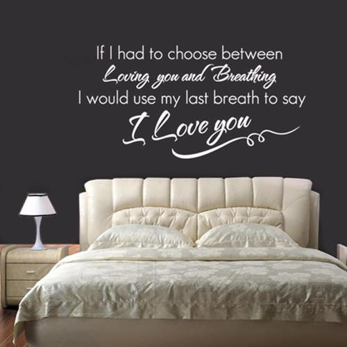 master bedroom quotes i you wall quote decal l decor sticker letterign 12321