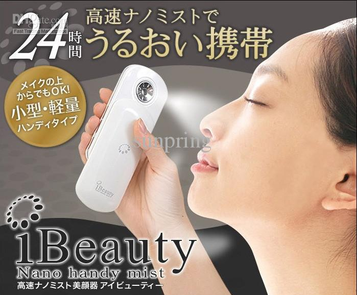 Mini Ibeauty Nano Handy Mist Atomisation Facial Humectant Steamer Vapeur Ionic Spa / Lo