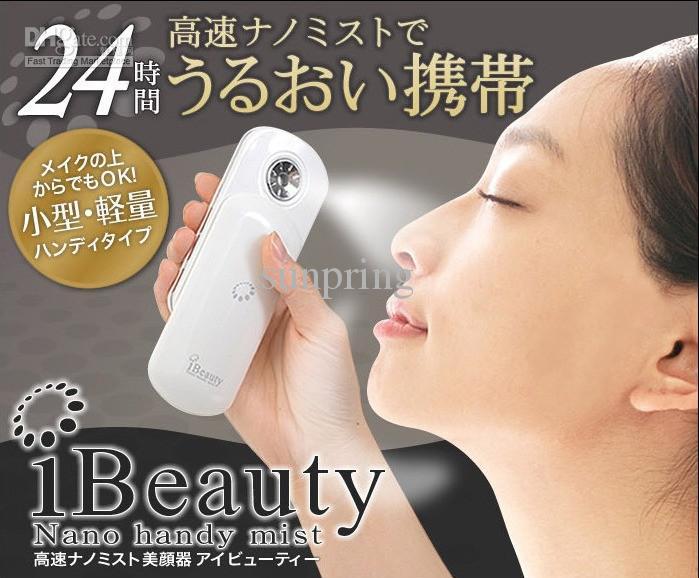 Mini iBeauty Nano Handy Mist Atomization Facial Humectant Facial Steamer Ionic Sprayer Spa / lo