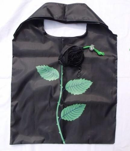 베스트 일치 10Pcs 귀여운 접이식 쇼핑 나일론 로즈 가방 에코 재사용 가능한 재활용 가방
